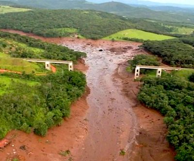 U.N. calls for probe into Vale's tailings as they head to large Brazilian river