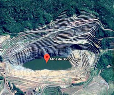 Wall at Vale's Gongo Soco pit begins gradual slide; dam holds intact